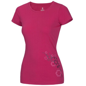 Ocun Blooms T-Shirt Women Fresh Pink